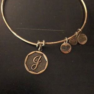 Alex and Ani - J initial